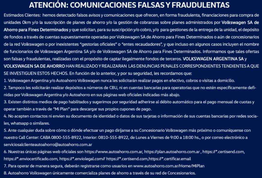 aviso peligro fraude